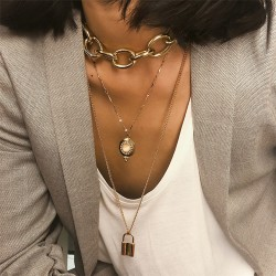 Luxe Slot Chain Ketting
