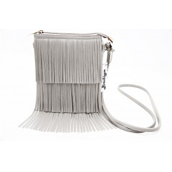 Grey Fringe Tassel (small)