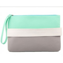 White Wristlet Envelope