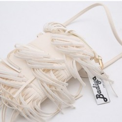 White Fringe Tassel (small)